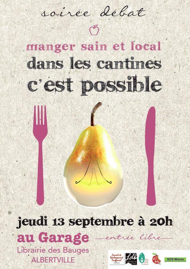 Manger Sain Et Local Dans Les Cantines, C'est Possible !