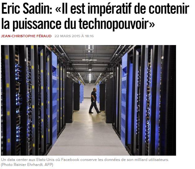 S'interroger Sur La Place Du Technopouvoir Dans La Société
